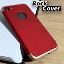 iPhone 7 High Impact Shell Shock Proof Removable Base Case for Docking Red