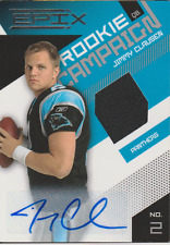 Jimmy Clausen 2010 Panini Epix Rookie Campaign RC auto autograph card 12 /100