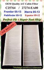For Frontier NV1500 PathFinder Xterra Equator A/C Cabin Air Filter C25764