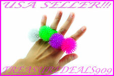 12 PCS LIGHT UP SOFT JELLY RINGS FLASHING LED RAVE PARTY FAVORS BLINKING GLOW