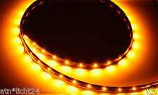 Unterbodenbeleuchtung 2 x 1,2m 120cm 60 SMD Led Orange Gelb Leiste12V IP65 Neu