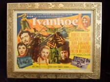 IVANHOE ELIZABETH TAYLOR FRAMED ORIGINAL GORGEOUS ART