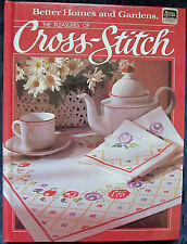 The Pleasures of Cross Stitch Pattern Book Pillows Clothing Linens Christmas