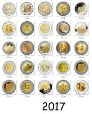 2 Euro moneta commemorativa 2017 - Tutti i paesi disponibili