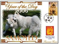 SAMOYED CHINATOWN YEAR OF THE DOG STAMP COVER 8