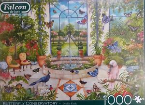 PUZZLE / BUTTERFLY CONSERVATORY 1000 TEILE