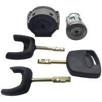 Para Ford Encendido Interruptor Reparación Cerradura de Encendido & 3 Llaves