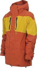 VOLCOM Men's EX 4-WAY SNOW Jacket - RST - Size Medium - NWT - Reg $540