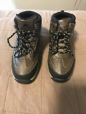 OZARK TRAIL BOYS HIKING TRAIL BOOTS SIZE 1 BROWN LACE UP OUTDOOR BOOTS SHOES NEW