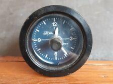 Orologio da cruscotto per Moto Guzzi Veglia Borletti 12 Volt con sfondo blu