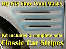 Holden HQ GTS Monaro and Sandman Paint Mask Stencil - GTS Guard Flutes