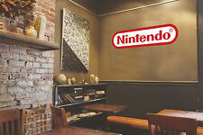 Nintendo Logo New Game Mario Wall Decal Vinyl Sticker
