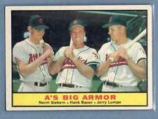 1961 Topps #119 A's Big Armor VG-EX