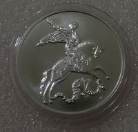 Russia 3 rubles 2018 Saint George the Victorious Silver 31.1 gr Moscow mint UNC