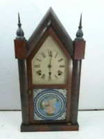 Welch Steeple Style Mantel/Shelf Clock ~ Runs Great
