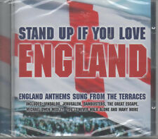 Stand Up If You Love England CD NEU England Anthems Sung From The Terraces