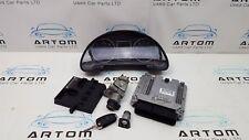 AUDI A4 B7 2.0 TDI 140BHP AUTO ECU Kit Set con chiave 03G906016LR/0281013888