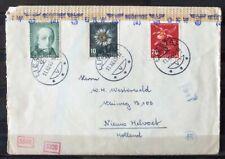 NEDERLAND; Censuurbrief vanuit LIESTAL Zwiteserland 11 dec 1943