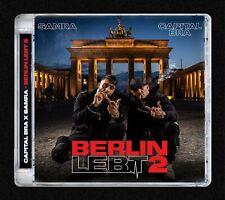 "Capital Bra & Samra ""berlin lebt 2"" CD NEU Album 2019"