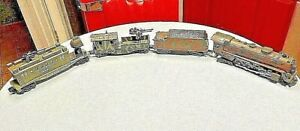 One of a Kind ,Custom Pro Painted Army Camo Lionel Steam Engine Set , All Metal