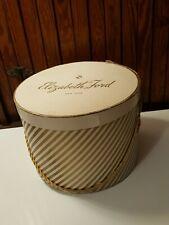 Vintage Elizabeth Ford New York Hat Box