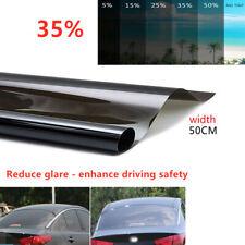 Car 35% Window Solar Film Explosion Proof Film Heat Insulation Membrane 50x300CM