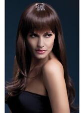 Heat Resistant Wig Washable Styleable Ladies Wig Fancy Dress Wig Sienna Brown
