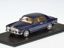 Spark Bentley t1 two Door saloon 1967 Blue 1:43 (s3814)