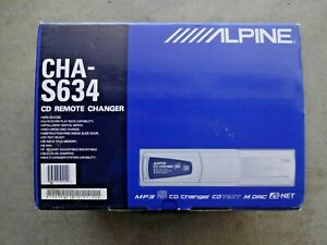 Alpine CHA-S634 6-disc Ai-NET CD/MP3 Changer - BRAND NEW - Inc. FREE Shpg & Trkg