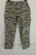 US Air Force Mens Pants 38S Camo Green & Tan Cargo Style