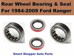 """Rear Wheel Bearing and Seal For 1984 1985 1986 -2009 Ford Ranger 8.8"""" Ring Gear"""