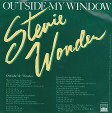 Stevie Wonder Outside My Window / Same Old Story USA 45 With Picture Sleeve