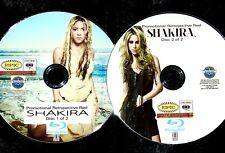 SHAKIRA Promo Retrospective Reel 43 Music Video Collection 2 BLU-RAY DVD Set