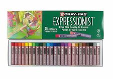 Sakura 25pc Cray-Pas Expressionist Assorted Color Oil Pastel Set