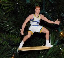 chris MULLIN golden state WARRIORS basketball NBA xmas TREE ornament jersey vtg