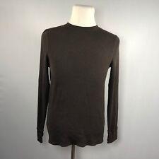 Urban Pipeline Men Long Sleeve Thermal Shirt Top Size Medium Brown - D19