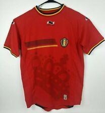 Belgium National Football Shirt Soccer Jersey Burrda Sport Mens Size XL Yellow