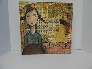"Kelly Rae Roberts Collection 12""x12"" GRACE Mixed Media Print Wall Art Demdaco"