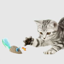 Pet Cat Feather Catnip Ball Mouse Toy Kitten Catch Chewing Playing To;Au Hs