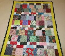New Handmade / baby blanket great baby shower gift / crib quilt