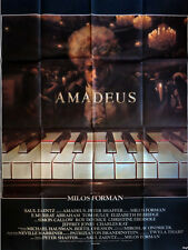 Affiche 120x160cm AMADEUS 1984 Milos Forman - F Murray Abraham, Tom Hulce BE