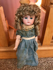 Pretty French Bisque Head Antique Schmitt Bebe Artist Reproduction Girl Doll Nr