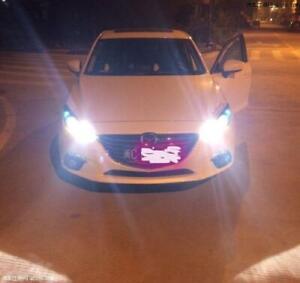 9005+H11 CREE LED Headlight High+Low Globes Bulbs For Mazda 3 6 CX7 CX9 Lamp
