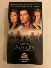 The Mists of Avalon (VHS, 2001) Angelica Huston, Julianna Margulies