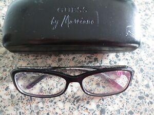 Guess black glasses frames. GM 105.