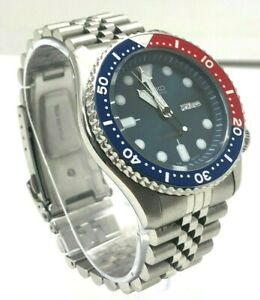 Seiko SKX009 Diver Scuba Day Date 7S26-0020 Automatic Mens Watch