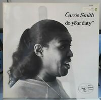 """RARE LP - Carrie Smith - """" Do Your Duty """" 1976  Black & Blue – 33.103  NM /MINT"""