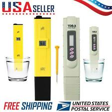 Digital LCD PH Meter 3 in 1 TDS EC Water Purity PPM Filter Hydroponic Tester Pen