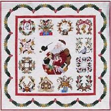 Baltimore Christmas Quilt Pattern Set By Pearl Pereira