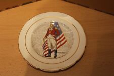 GEORGE WASHINGTON - DECLARATION OF INDEPENDENCE PLATE - USA PRESIDENT